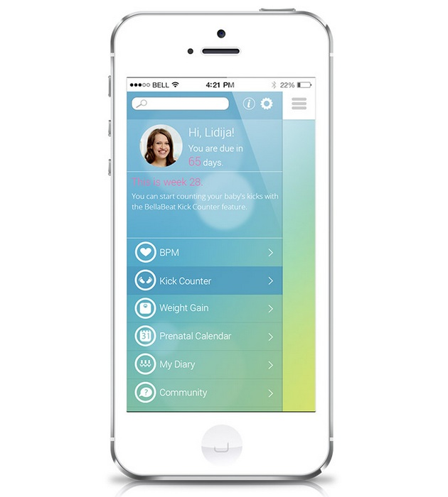 Bellabeat-Smart-Pregnancy-Tracker