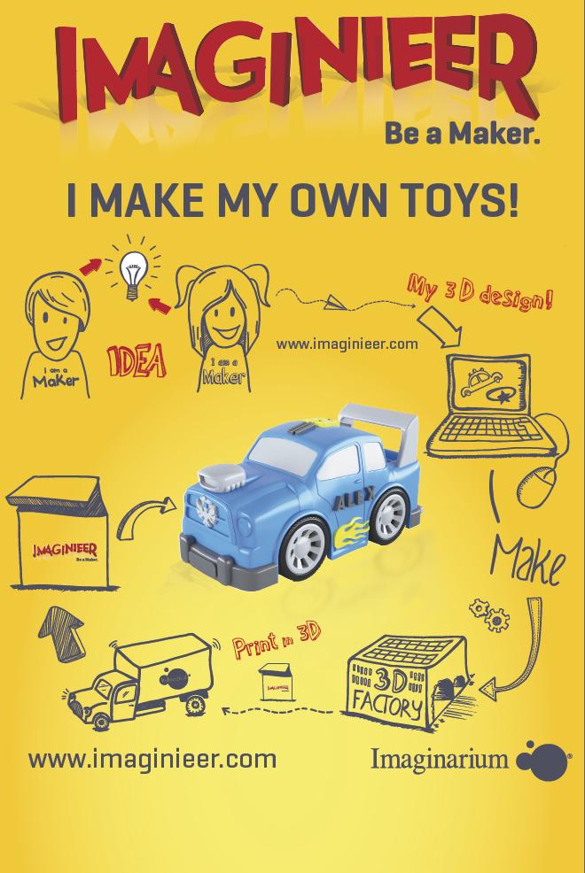 oyuncak print etmek