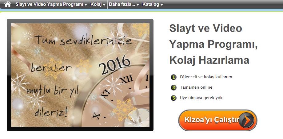 kizoa sayfa görüntü