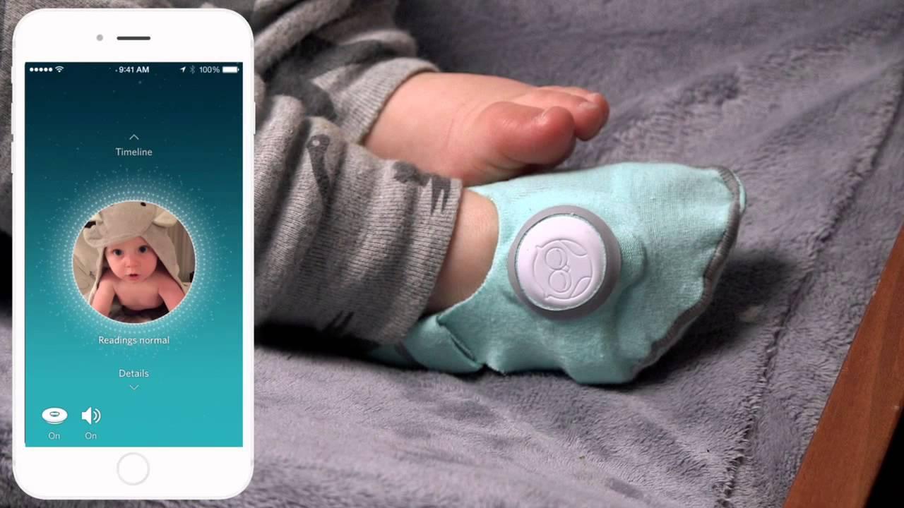Bebek monitörü akıllı çorap - Teknolojik Anneler