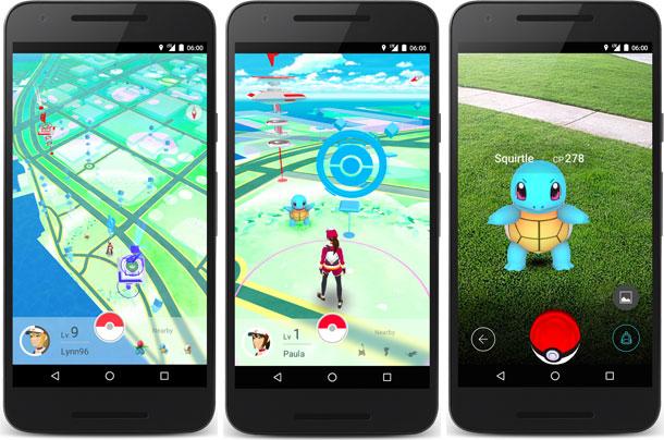 Pokemon Go artırılmış gerçeklik tabanında oynanıyor