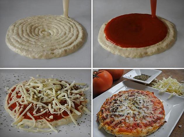 3d pizza yazıcı