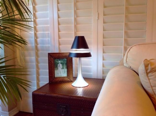 anti gravitiy floating lamp