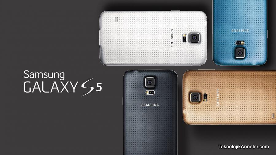 samsung galaxy s5 tanıtıldı