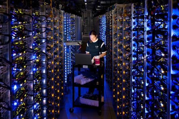google verileri nerede saklıyor
