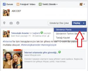 facebook-zamanlama