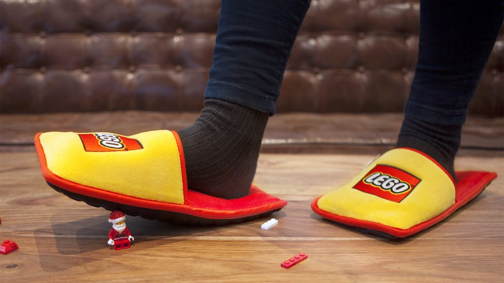 Lego slippers by Brandstation