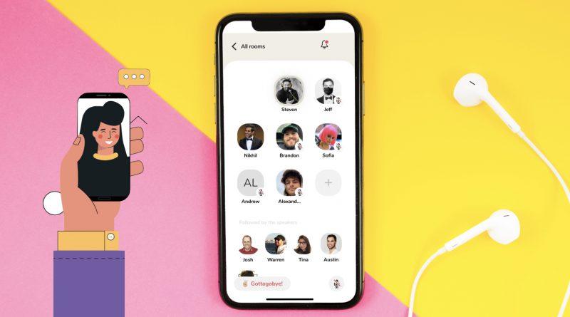 club house uygulaması ekran görüntüsü