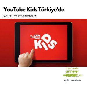 youtube kids ekran görüntüsü
